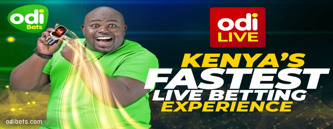 Odibets is Leading the way in Live Betting in Kenya