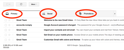How to Ensure the emails that we send via Email  Reach your email Primary Tab (Inbox)...