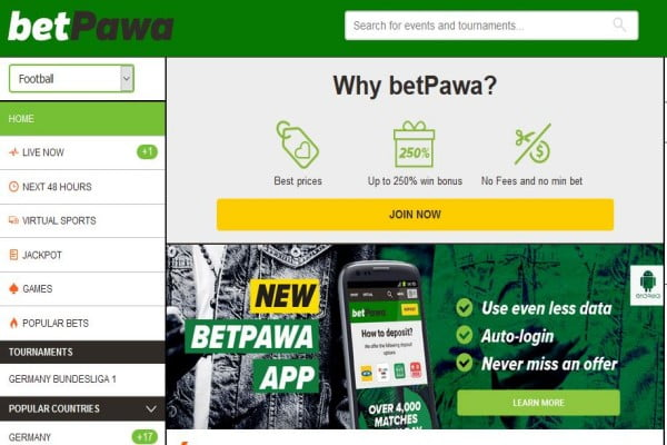 BetPawa Nigeria Registration, Deposit, App and Contacts