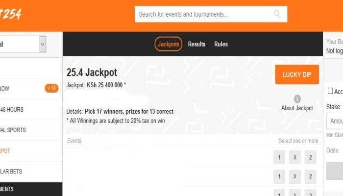 17th & 18th April BET254 Weekend Jackpot Predictions