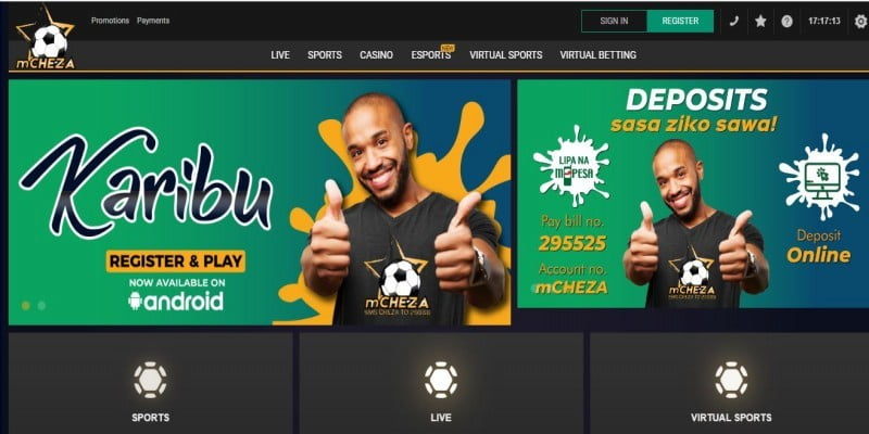 mCheza Registration, Login, App, Bonuses ,Jackpot,PayBill Number and Contacts
