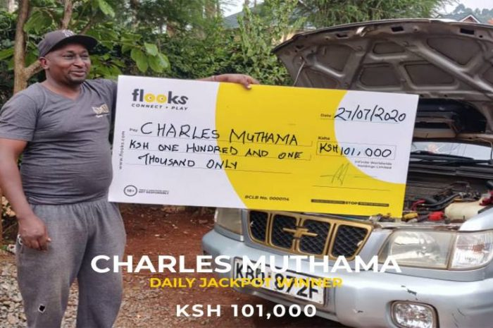 THOGOTO MAN WINS KSH 101, 000 WITH FLOOKS BETTING COMPANY; THE HOME OF  JACKPOTS & KINGS OF BONUSES
