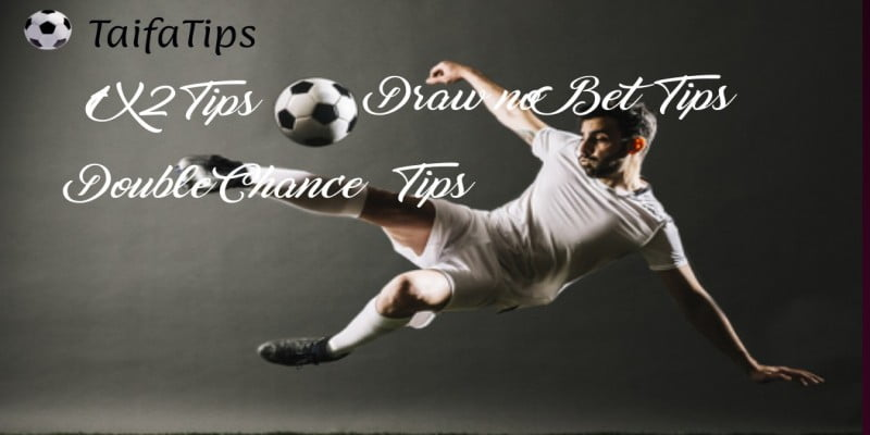 Daily 1X2, Draw no Bet, Double Chance Football Predictions