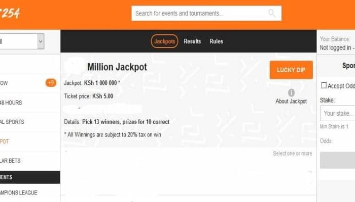 10th & 11th October BET254 Weekend Jackpot Predictions