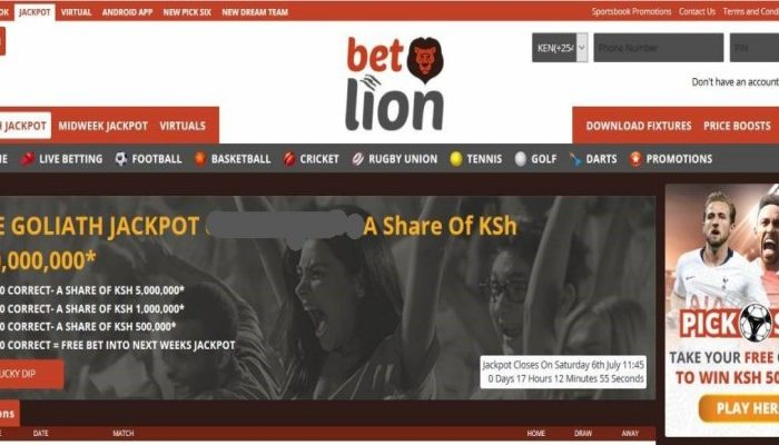 3rd & 4th April Betlion Goliath Jackpot Predictions