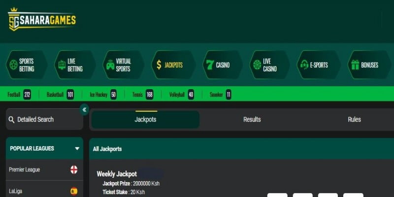 Sahara Games Jackpot Predictions