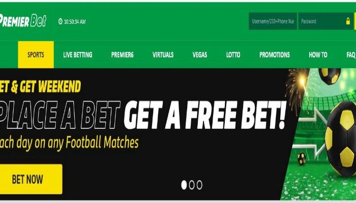 PremierBet Ghana Registration, Login, App, Promotions, Bonuses, Contacts