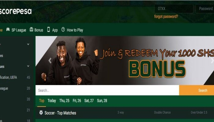 ScorePesa Welcome Bonuses, Rules, Terms and Conditions, Promotions, Free Bets