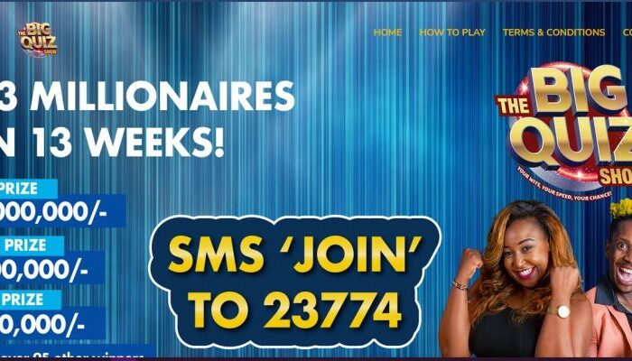 The Big Quiz Show at KTN by Betty Kyalo Guide, Prizes, Winners, How to Play and Contacts