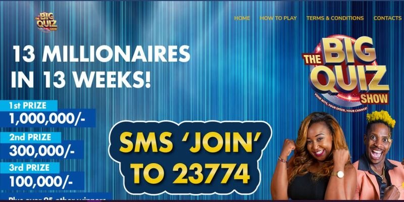 TheBigQuizShow by Betty Kyalo Guide, Prizes, Winners, How to Play and Contacts